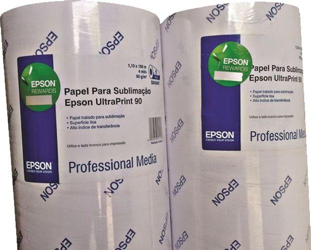 Impressão Sublimática 40cm X 60cm com Papel e Tinta Original Epson