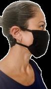 Máscara de Tecido com Suporte de Fixação - Unidade
