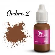 Pigmento orgânico RB Kollors 15 ml - Ombre 2