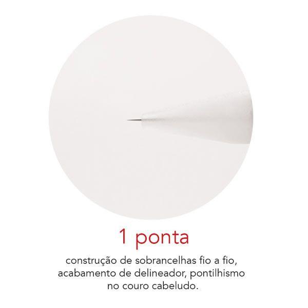 Agulha Rosca Dermomag Pen e Junior - 1 ponta  - Tebori Nordeste