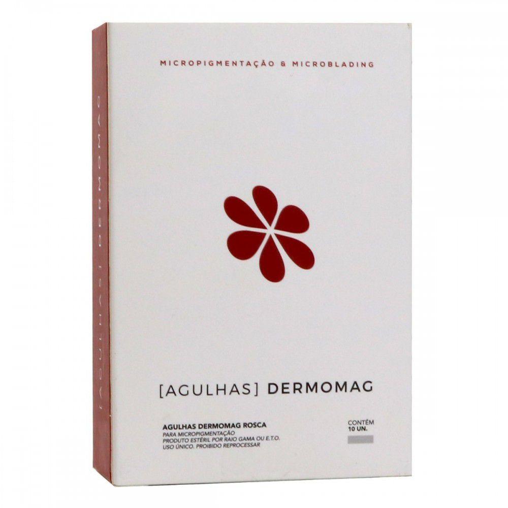 Agulha Rosca Dermomag Pen e Junior - 3 pontas CIRCULAR  - Tebori Nordeste