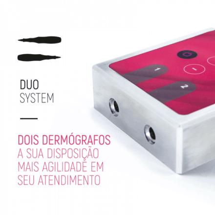 Dermógrafo Dermomag Pen Easy + Fonte Digital Duo  - Tebori Nordeste