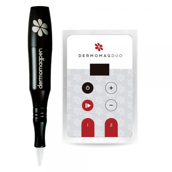 Dermógrafo Dermomag Pen + Fonte Digital Duo  - Tebori Nordeste