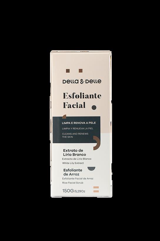 Esfoliante Facial Della e Delle -150g  - Tebori Nordeste