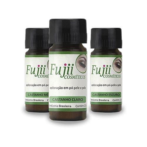 Kit Completo Henna Profissional para Sobrancelhas - Fujii  - Tebori Nordeste