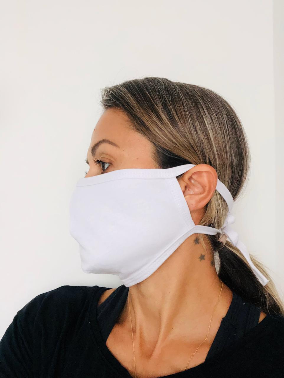 Máscara de Tecido Reutilizável - Pacote com 5 unidades  - Tebori Nordeste