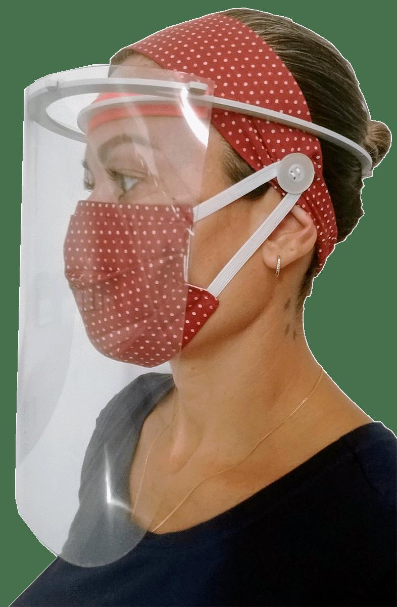 Máscara Protetora Facial - Face Shield  - Tebori Nordeste