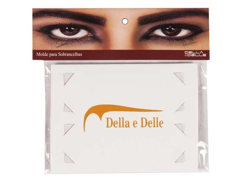 Moldes para Sobrancelhas Della e Delle - 6 moldes  - Tebori Nordeste