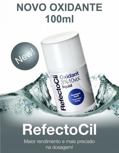 Oxidante Líquido para tintura Refectocil 3% 10 volumes - 100ml  - Tebori Nordeste