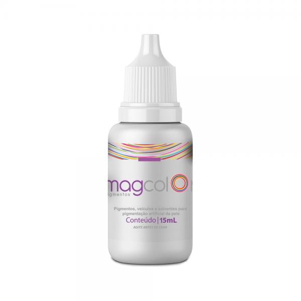 Pigmento Mag Color 15 ml - Branco  - Tebori Nordeste