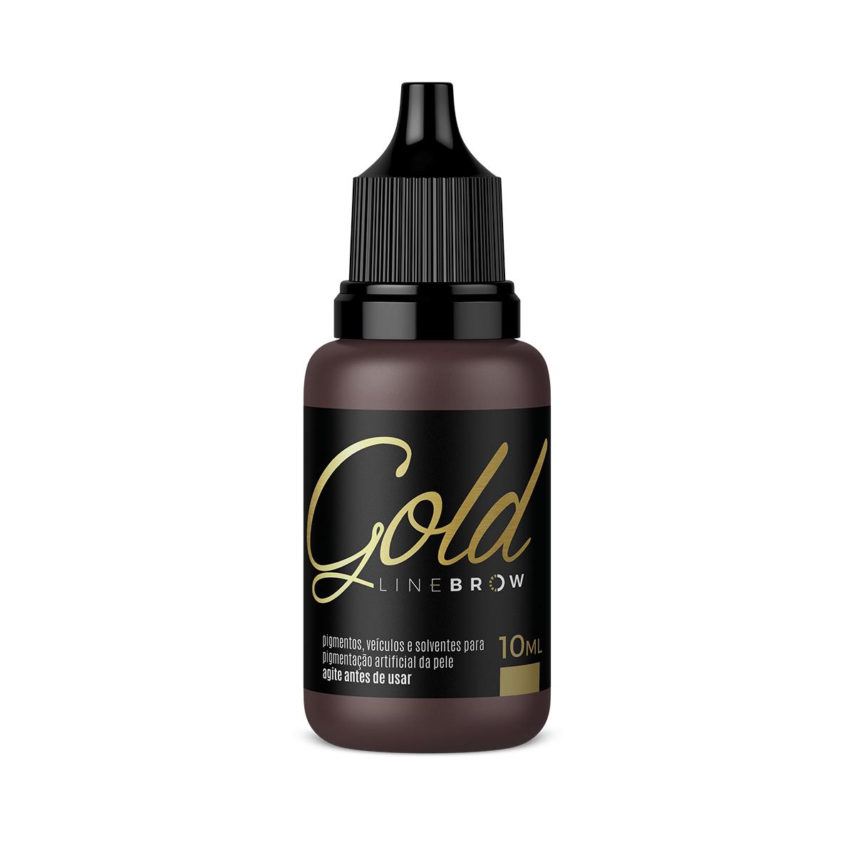 Pigmento Mag Color Gold Line Brow 10ml - Hot  - Tebori Nordeste