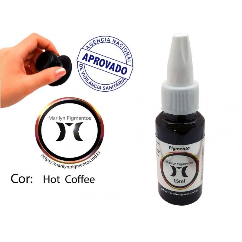 Pigmento Marilyn 15ml - Hot Coffee  - Tebori Nordeste