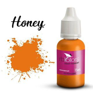 Pigmento orgânico RB Kollors 15 ml - Honey  - Tebori Nordeste