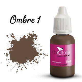 Pigmento orgânico RB Kollors 15 ml - Ombre 1  - Tebori Nordeste
