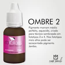Pigmento orgânico RB Kollors 15 ml - Ombre 2  - Tebori Nordeste