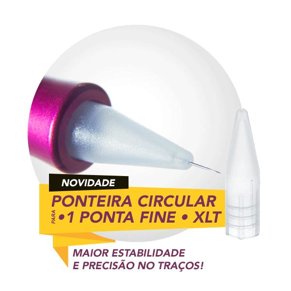 Ponteira Dermomag Pen e Junior - Circular FINE - Unidade  - Tebori Nordeste