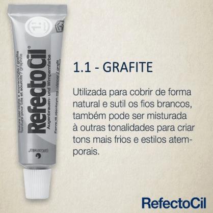 RefectoCil Tintura para Sobrancelhas - Grafite 1.1  - Tebori Nordeste