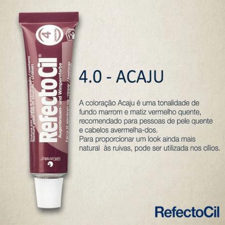 RefectoCil Tintura para Sobrancelhas - Vermelho Acaju 4.0  - Tebori Nordeste