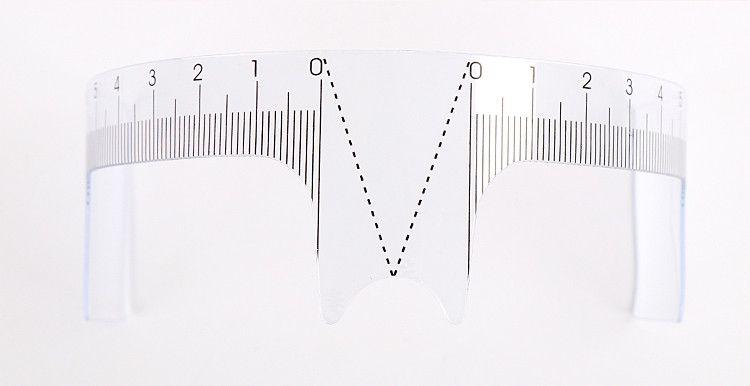 Régua Simétrica de Micropigmentação de Sobrancelhas  - Tebori Nordeste