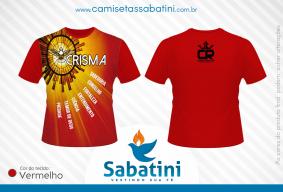 Camiseta Personalizada - CRISMA - PARÓQUIA CRISTO REI -  ANGRA DOS REIS - RJ - ID:15461920