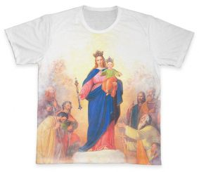 Camiseta REF.0108 - Nossa Senhora Auxiliadora