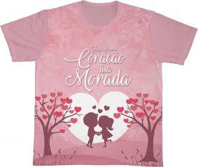Camiseta REF.0191 - Faça do meu Coração tua Morada