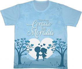 Camiseta REF.0192 - Faça do meu Coração tua Morada