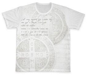 Camiseta REF.0203 - A Cruz Sagrada - São Bento