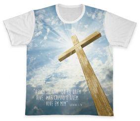 Camiseta REF.0204 - Gálatas 2,20