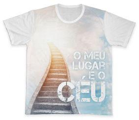 Camiseta REF.0219 - O Meu Lugar é o Céu