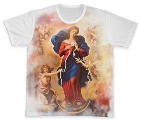 Camiseta REF.0231 - Nossa Senhora Desatadora dos Nós