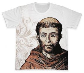 Camiseta REF.0257 - São Francisco de Assis