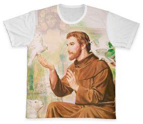 Camiseta REF.0259 - São Francisco de Assis