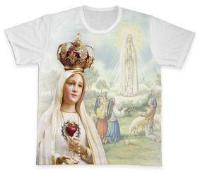 Camiseta REF.0260 - Nossa Senhora de Fátima
