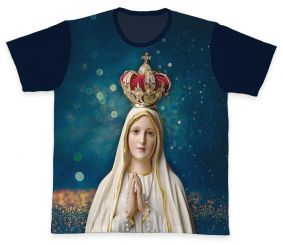Camiseta REF.0261 - Nossa Senhora de Fátima