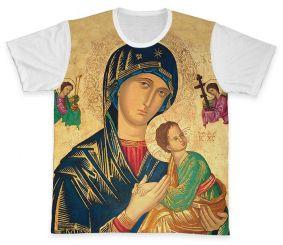 Camiseta REF.0262 - Nossa Senhora do Perpétuo Socorro