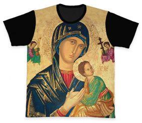 Camiseta REF.0263 - Nossa Senhora do Perpétuo Socorro