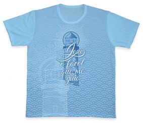 Camiseta REF.0335 - Jesus, o farol que me guia