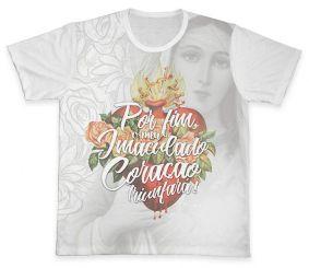 Camiseta REF.0336 - Imaculado Coração de Maria