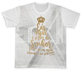 Camiseta REF.0348 - Eis Aqui a Serva do Senhor