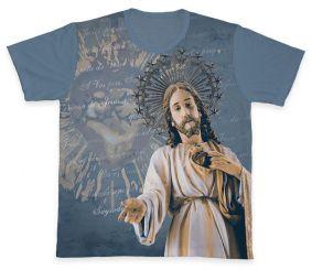 Camiseta REF.0353 - Sagrado Coração de Jesus