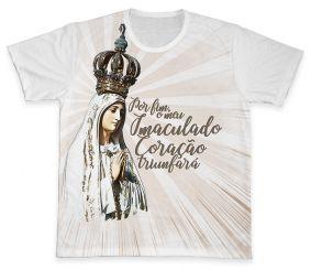 Camiseta REF.0368 - Nossa Senhora de Fátima