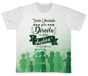 Camiseta REF.0377 - Campanha da Fraternidade 2019