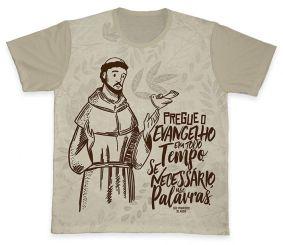 Camiseta REF.0381 - São Francisco de Assis