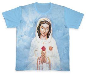Camiseta REF.0389 - Nossa Senhora da Rosa Mística