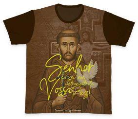 Camiseta REF.0390 - São Francisco de Assis
