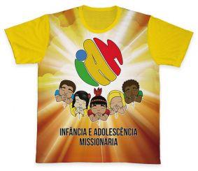 Camiseta REF.0455 - IAM - Infância e Adolescência Missionária