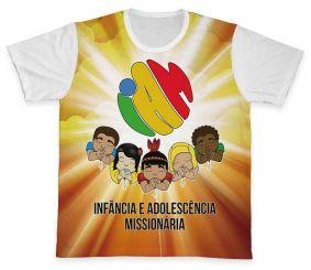 Camiseta REF.0456 - IAM - Infância e Adolescência Missionária