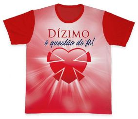 Camiseta REF.0566 - Pastoral do Dízimo