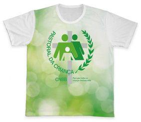 Camiseta REF.0701 - Pastoral da Criança